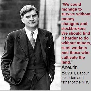 Aneurin Bevan quote | Flickr - Photo Sharing!