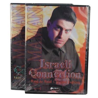 Israeli Connection DVDs Nir Maman Self Defense Combat Survival Video DVD-ISRADV
