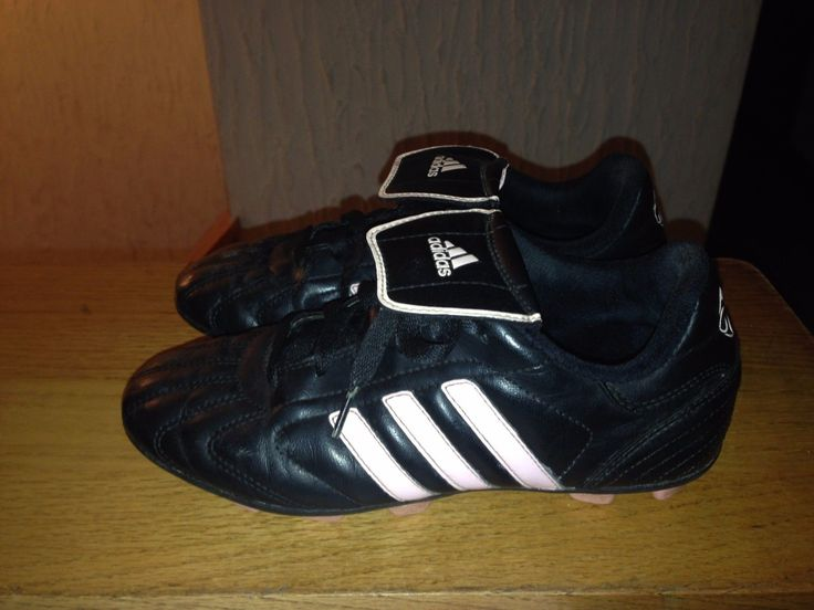 ADIDAS black pink soccer cleats youth girls size 3.5