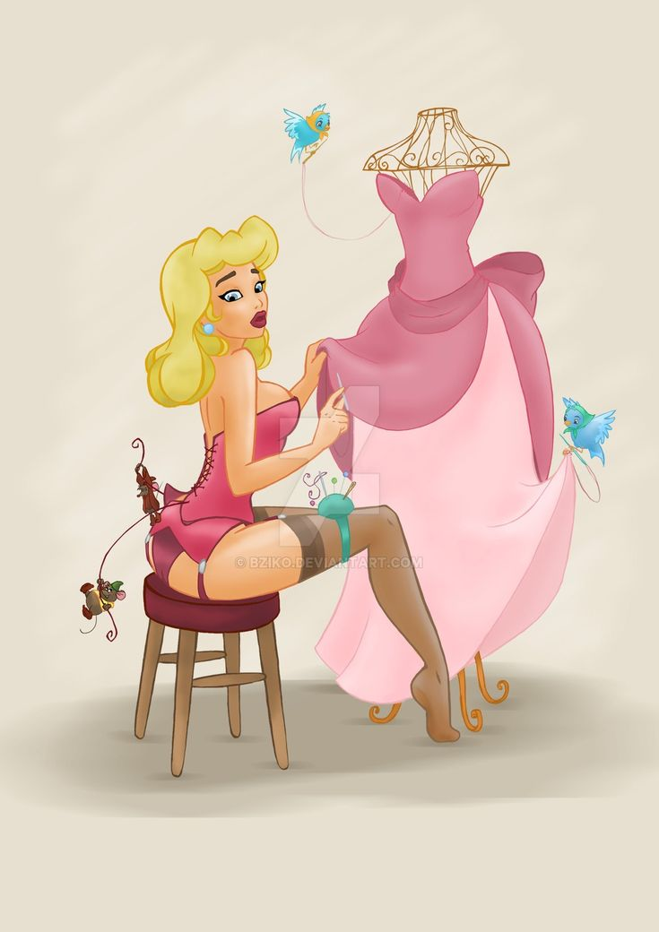 Pin up princess: Cinderella by BzikO.deviantart.com on @DeviantArt