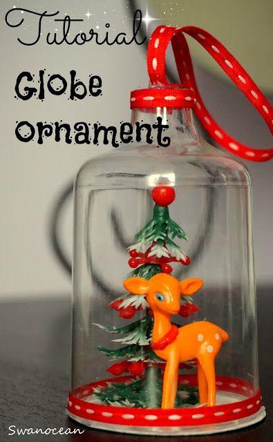 Tutorial: Globe ornament-Στολίδι σε γυάλα