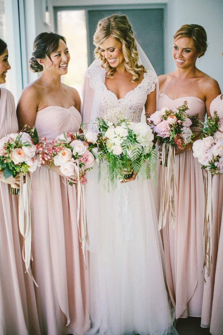 Jenny Yoo bridesmaid dresses Photography: Natasja Kremers