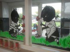 raam schildering - Google zoeken