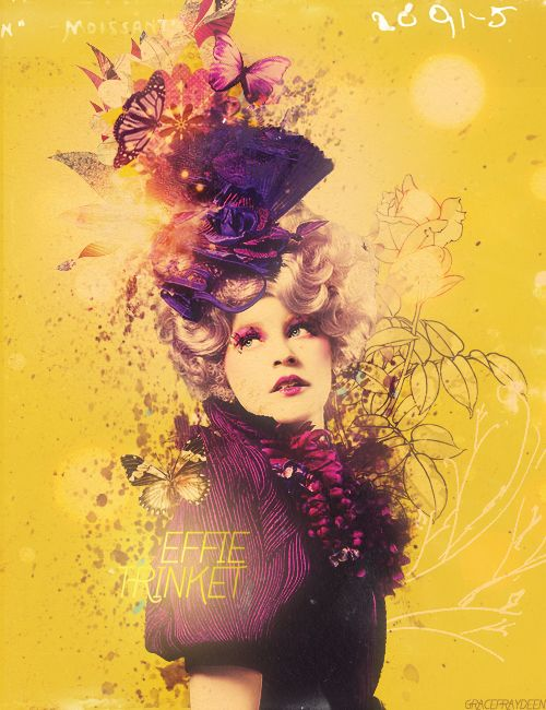 24 best Effie Trinket images on Pinterest | Effie trinket ...