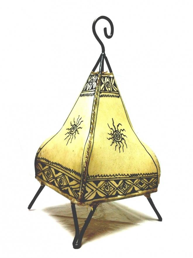 Moroccan Henna lamps - Natural | Artsiya