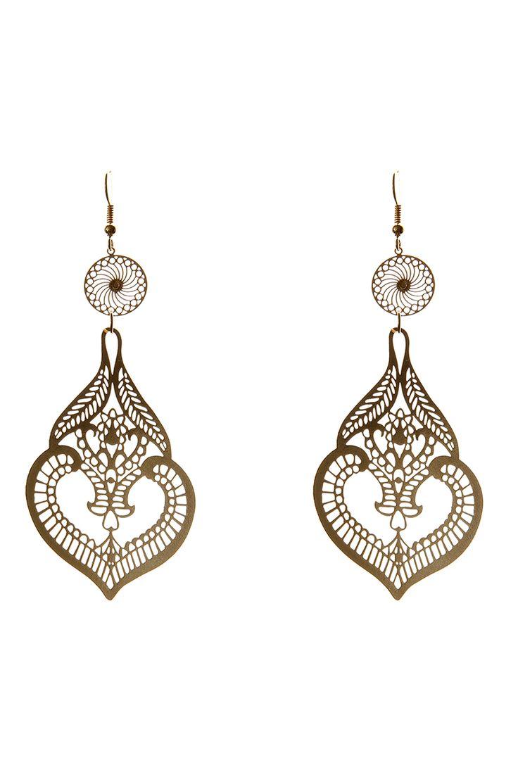 Lace Chandelier Earrings