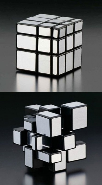 Babe got this for me for Christmas today :D Rubik's Mirror Cube.