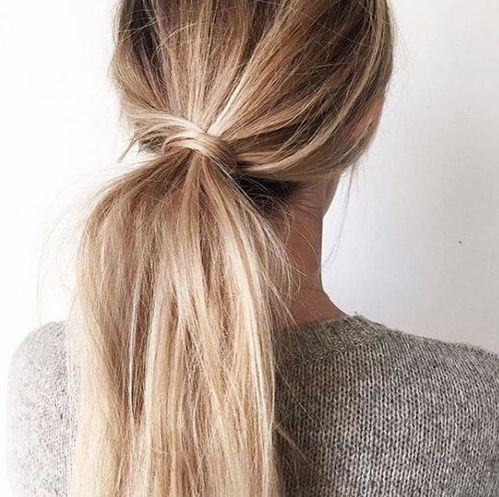 A Summer Ponytail — The Flair Index