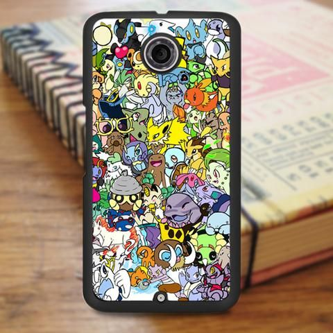 Pokemon Anime Collage Nexus 6 Case