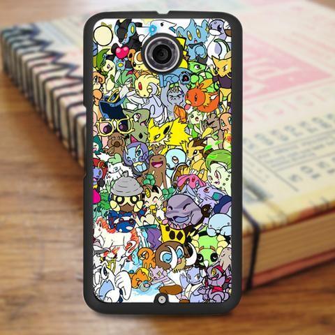 Pokemon Anime Collage Nexus 6 Case