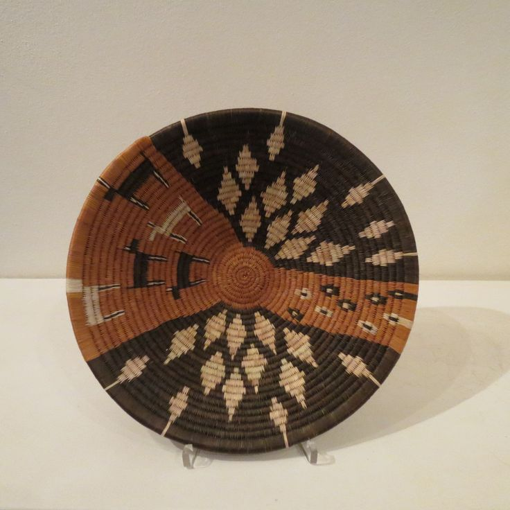 Hand made basket from Botswana.
