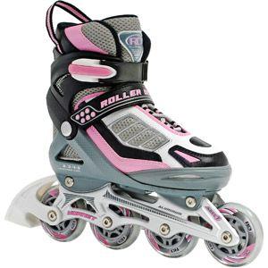 Roller Derby Skate Corp Hornet Pro Inline Adjustable Girls' Skates, Pink