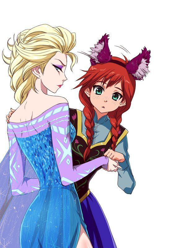 Accept. Frozen anna and elsa lesbian cartoon porn can