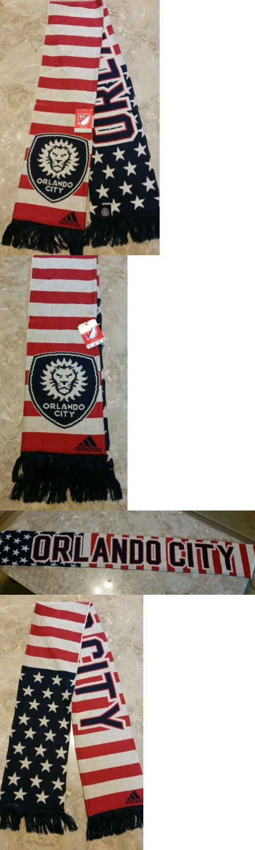 Soccer-MLS 2888: Nwt Orlando City Soccer Club 4Th Of July American Flag Usa Scarf Ocsc New Adidas -> BUY IT NOW ONLY: $45 on eBay!