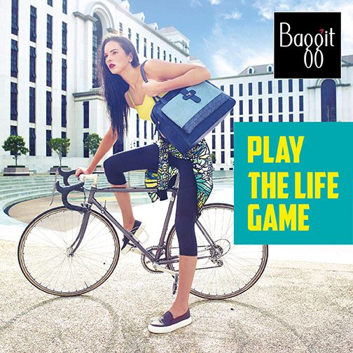 Play Strong with our on-trend but functional Fall/Winter'15 Collection. Baggit bags are sturdy and spacious to ensure that all your essentials are always by your side. http://www.playthelifegame.in/