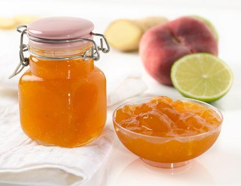 Pfirsich-Ingwer-Marmelade