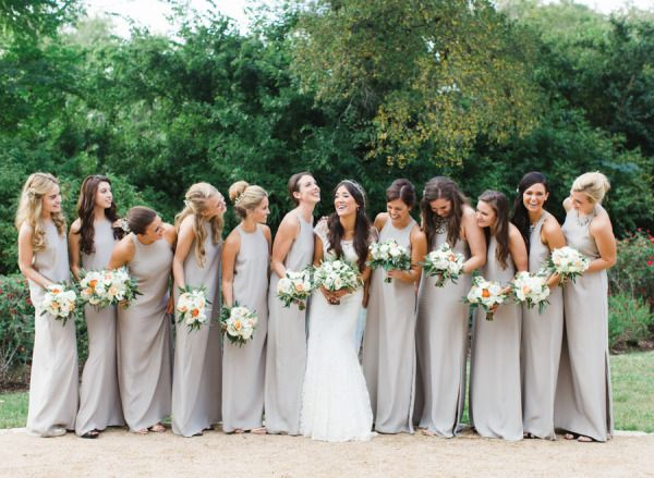 dove grey bridesmaid dresses, simple and elegant by natalie deayala collection Gallery & Inspiration | Picture - 1455859
