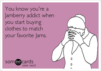 You know you're a #Jamberry addict when you start buying clothes to match your favorite #Jams.