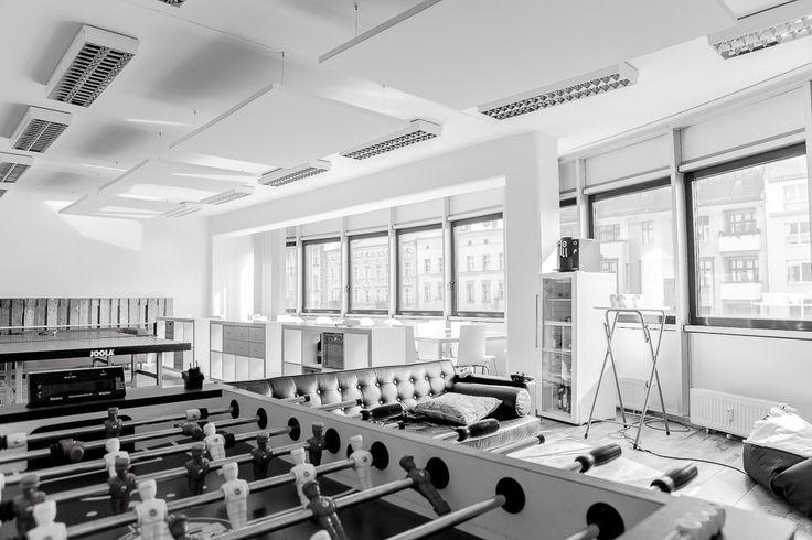 #officedropin #momox Inside Momox's Berlin Office.