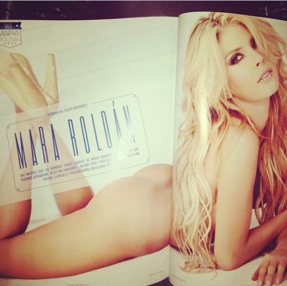 @Mara Roldan en #RevistaSoho #Cuerpo #Modelo