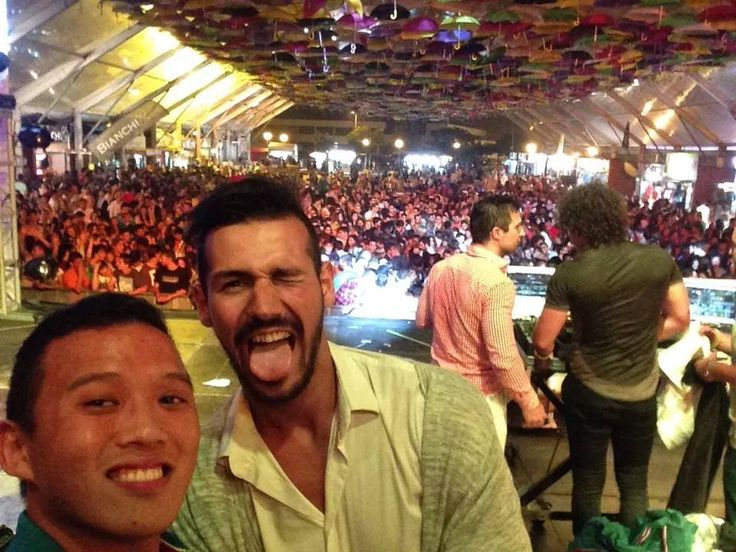 Some fun in the tent :)* With Jorge and Ivan* #Agueda #Agitagueda2014