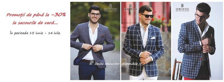 Promotii la sacourile de vara, in perioada 15 iunie - 14 iulie 2015. In limita stocurilor disponibile! In toate magazinele Seroussi. Detalii pe www.seroussi. ro