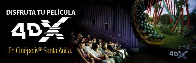 Cinepolis 4DX, cadena de cines en Lima, Perú
