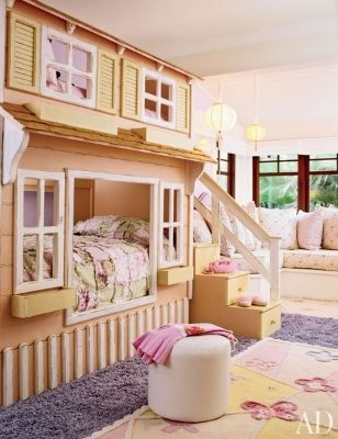 Looking for ideas to create an indoor oasis for your youngster? These nurseries, play spaces and chi