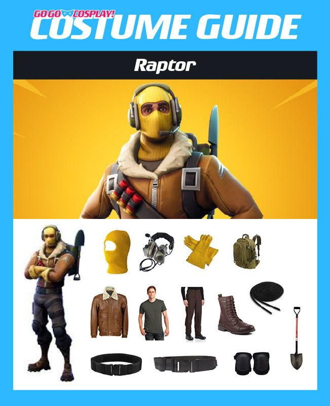 Raptor Costume From Fortnite Diy Guide For Cosplay Halloween