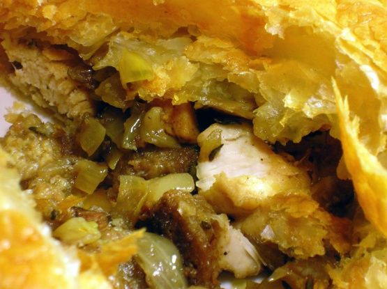 Make and share this Day After Thanksgiving (Or Christmas) Turkey Wellington recipe from Food.com.