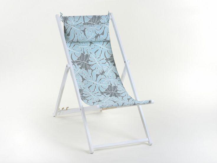 Prosty i klasyczny projekt leżaka Baya z dodatkowym zagłówkiem to propozycja dla osób ceniących wygodę i modne, oryginalne tkaniny. Rama leżaka wykonana z drewna bukowego pokryta ekologiczną...