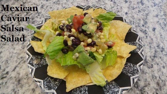 Mexican Caviar Salsa Salad Recipe Sunshine Sweet corn #cincodemayo #sponsored
