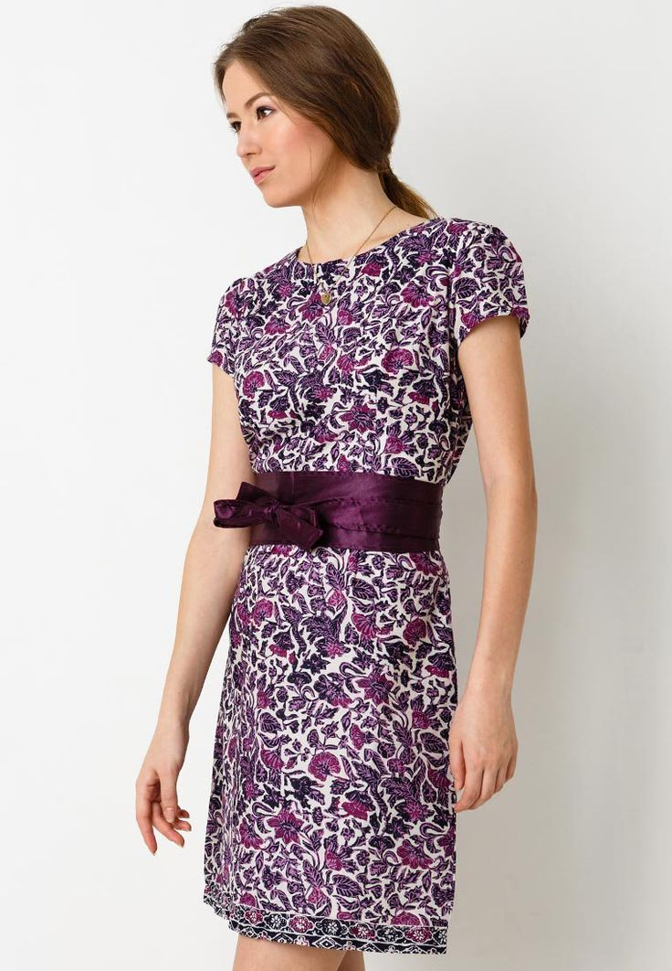Dress batik in purple by Eprise. http://www.zocko.com/z/JIi7C