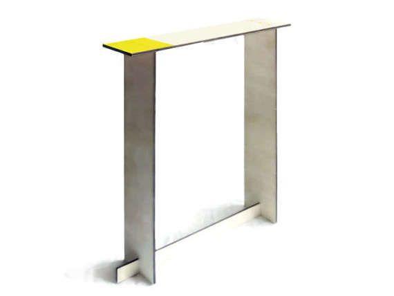 Laser cut wood entry tablewood foyer tablemodern console
