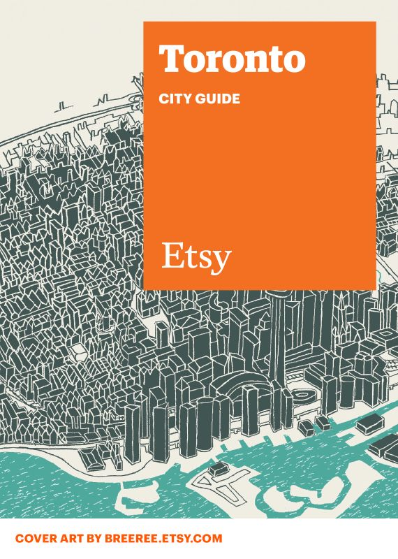 etsy city guides | Toronto, ON
