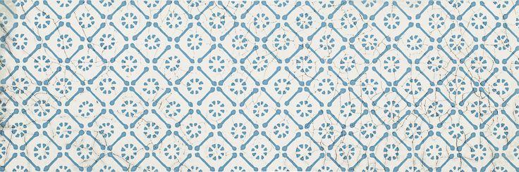 Antico Blue inserto B Dekoracje ścienne - 20x60 - Antico / Arke