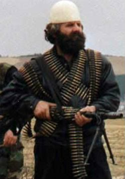 Adem Jashari - he fought against the Serbians when there was a war between Serbia and Kosovo