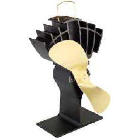 Caframo Ecofan Ultrair Heat Powered Stove Fan, Gold