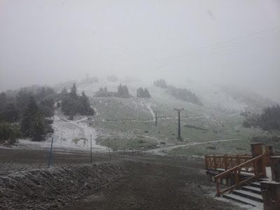 Piedra del Aguila.-: Y un día volvió la nieve a Bariloche