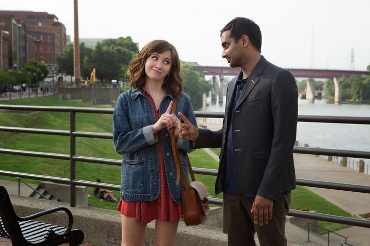 Noel Wells and Aziz Ansari in Master of None
