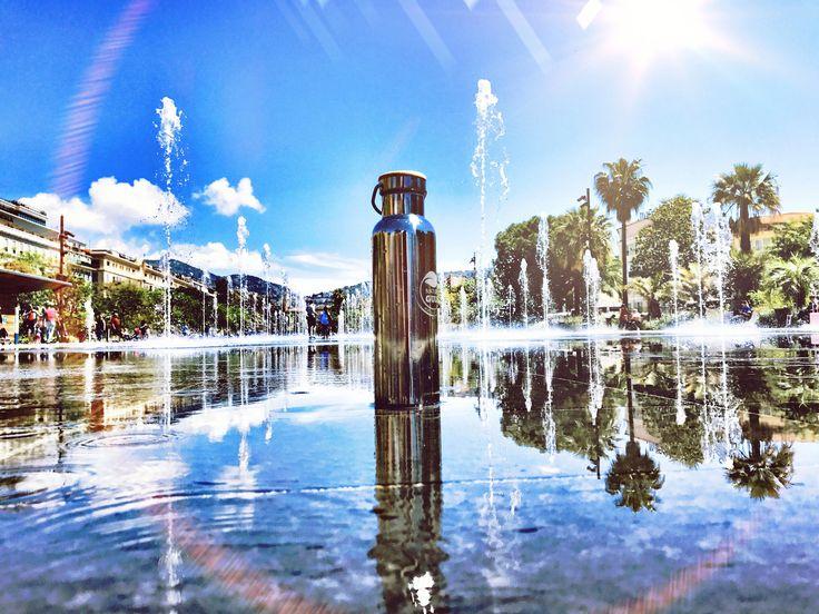Always refreshingEverytime, everywhere. #naturegulp #BringYourOwn #Nice #France #fountain