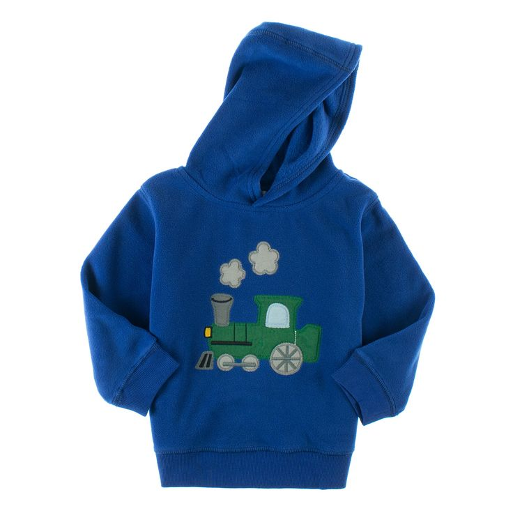 Gymboree fleece hettegenser for små gutter.