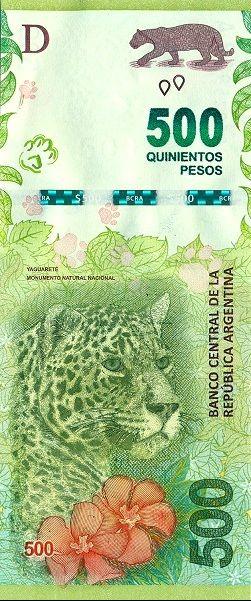 Matawang Argentina ( 500 Pesos ).                    Nama Mata Wang:    Argentine peso.      Kod ISO 4217:    ARS.      Simbol:    $      ...