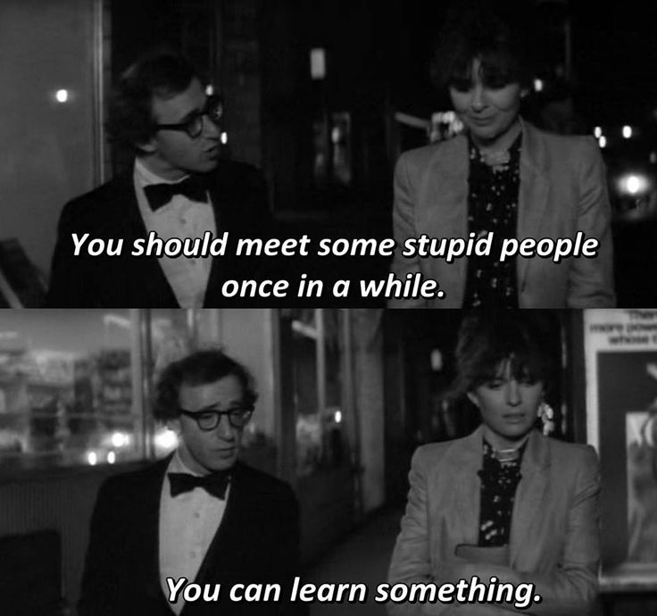 - Manhattan 1979  Woody Allen Diane Keaton Meryl Streep