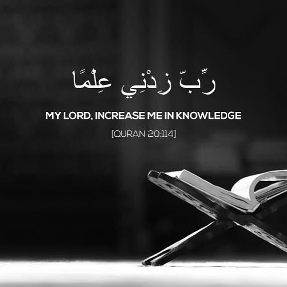 """317 Likes, 5 Comments - Quraan Buddy (@quraanbuddy) on Instagram: """"My lord increase me in Knowledge."""""""