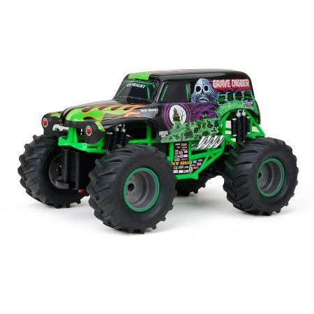 New Bright 1:15 RC Monster Jam Grave Digger, Black