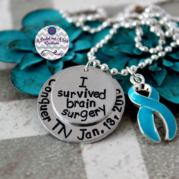 Custom Hand Stamped Trigeminal Neuralgia by BushelPeckCreations