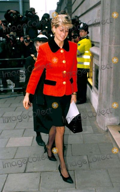 C/n 024602 12-9-1996 30th Anniversary of International Leprosy Asscoc Welcome Trust in London Princess Diana Photo By:dave Chancellor-alpha-Globe Photos, Inc 1996