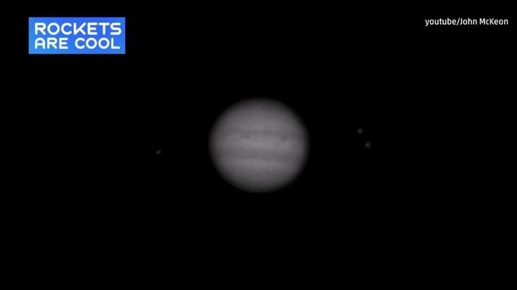 An amateur astronomer caught this amazing impact flash on the surface of Jupiter.