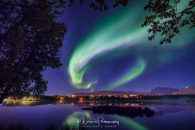 Fantastisk Nordlys - Aurora polaris - Polarlys i Tromsø